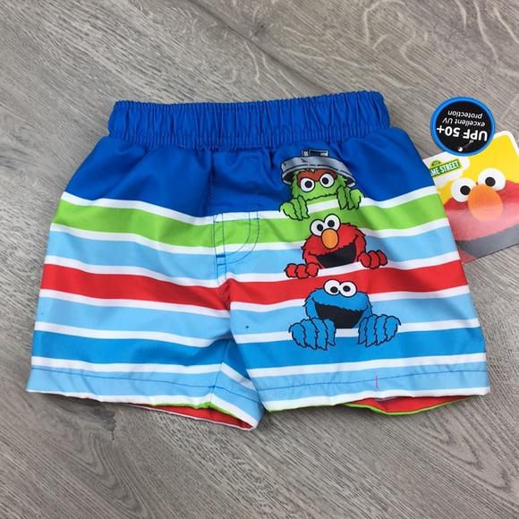 5f90a4d7b7 Sesame Street Swim | Baby Boy Trunks 69 Months | Poshmark